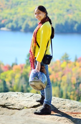Styling out in Algonquin Park.
