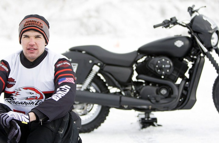 Harley-Davidson pushing for ice racing at the X-Games