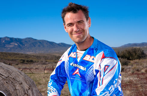 Johnny Campbell leaving Baja competition
