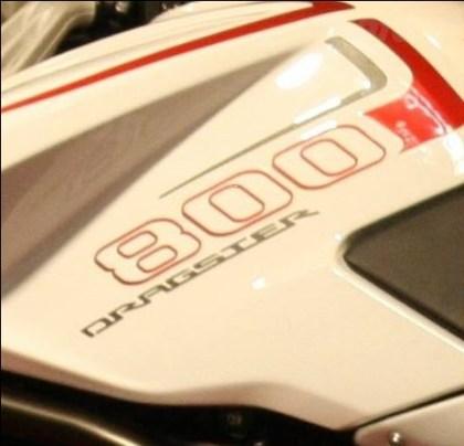 The new bike will be built around MV Agusta's 800 motor. Photo: Moto.it
