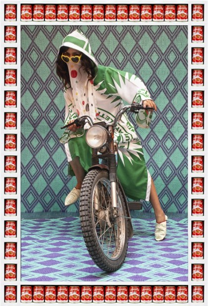 Born to be wild, Morocco-style. Photo: Hassan Hajjaj
