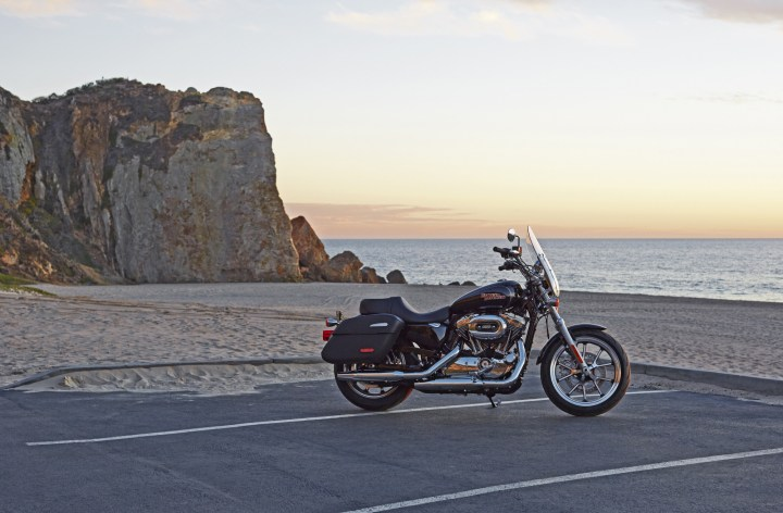 Low and SuperLow: Costa rides the newest Harley-Davidsons
