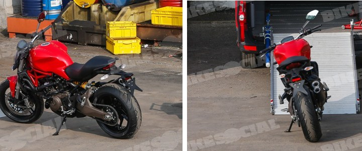 Spy shots: Ducati Monster 800, Scrambler