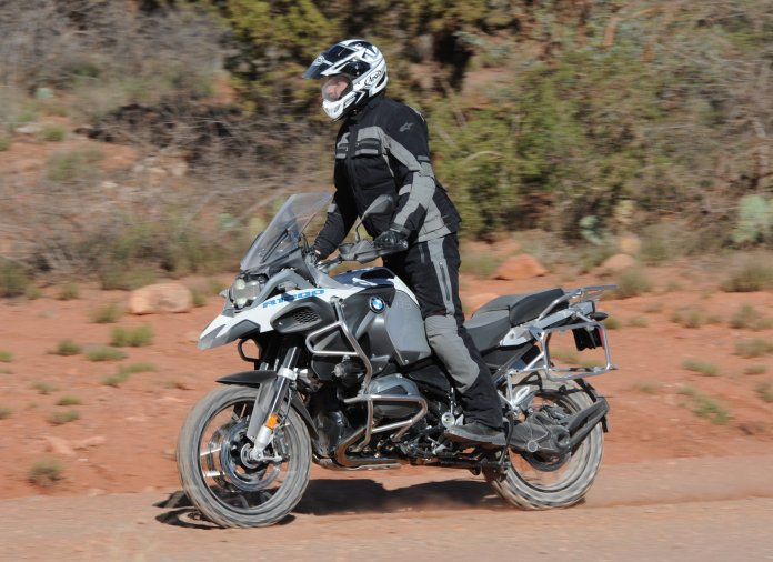 There's a certain speed where the big GS hits it comfort zone off road (60+ km/h)