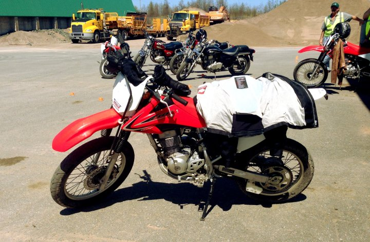 Weekend 1… learning to Ride
