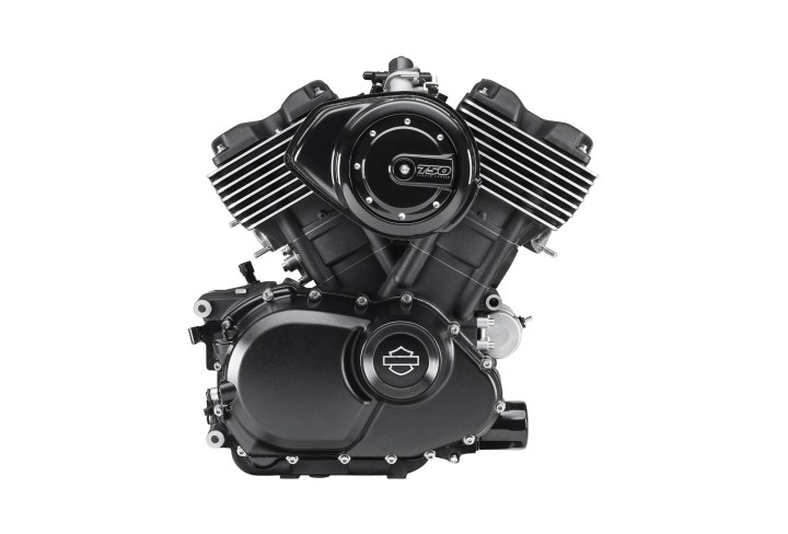 That's Harley-Davidson's first all-new motor since the V-Rod came out years ago.