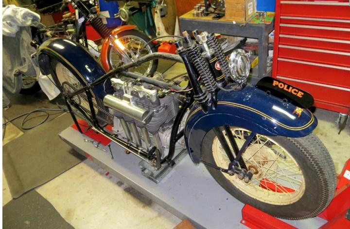 Classic bike restored for OPP museum