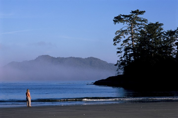With great beaches, interesting restaurants, hot springs, and fun roads in the area, Tofino is a great spot to visit, as long as the weather co-operates. Photo: Destination BC
