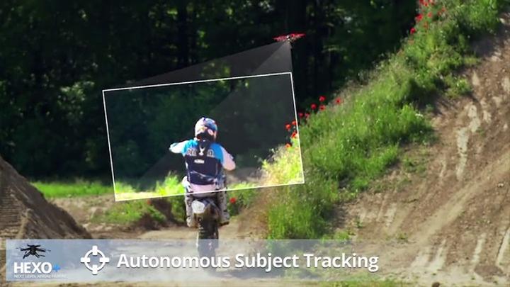 Des quadricoptères à moto?