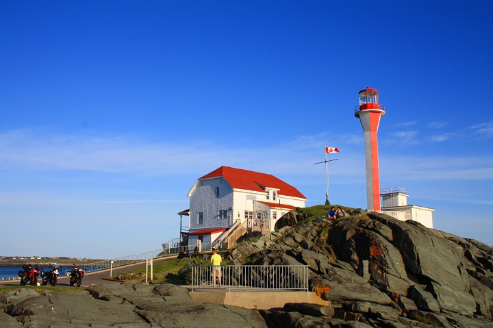 The Cape Forchu lighthouse is a must-do if you're in the Yarmouth area. The view is fantastic, and the roads to get there are a real treat. Photo: Zac Kurylyk