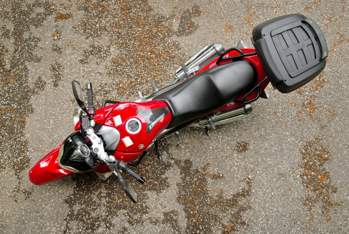 Here it is – the most comfortable quarter litre bike for two-up riding.