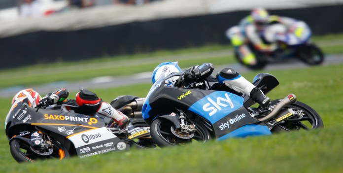 Efren Vazquez got his first win in his 116th GP race in Moto3