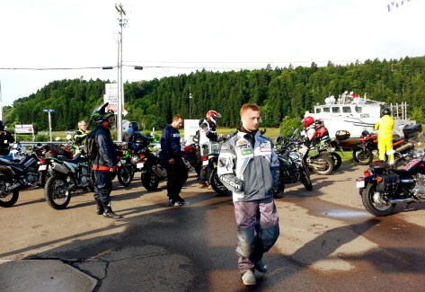 The gas stop in Alma, just before Fundy National Park. Photo: Zac Kurylyk
