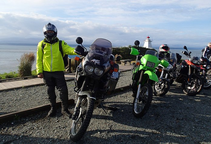More big bikes showed up this year, including this Honda Africa Twin, piloted by Chris (the Swiss) Bernath, and adventure rider who'd been on the road since leaving home in January to head for Argentina. Photo: Rob Harris