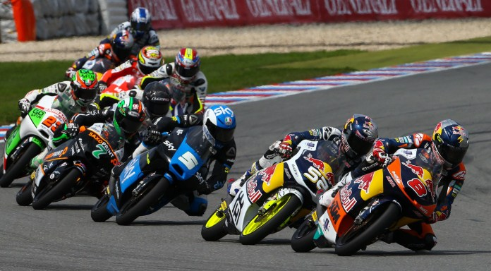 Moto3 was the closest race, as usual.