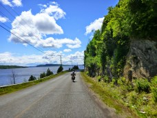 After Hampton, the roads snaked along the Kennebecasis and St. John river systems, making for fantastic scenery in many places. Photo: Ron Kierstead