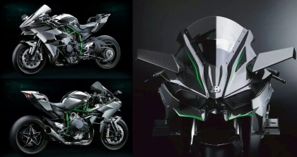 Kawasaki engineers spent considerable time optimizing that fairing with a wind tunnel.