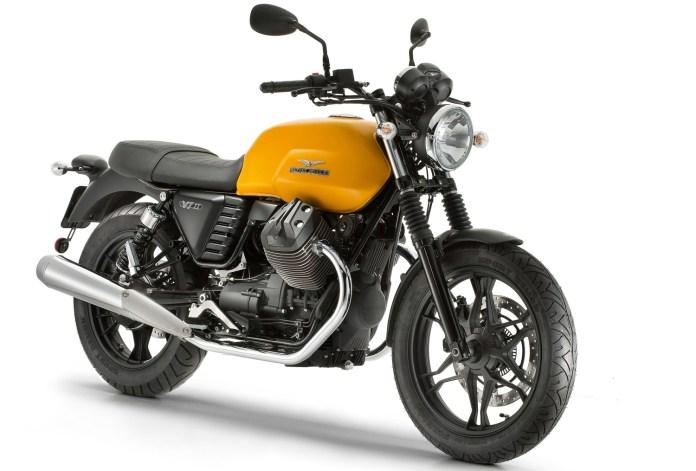 Here's the new V7 II from Moto Guzzi.
