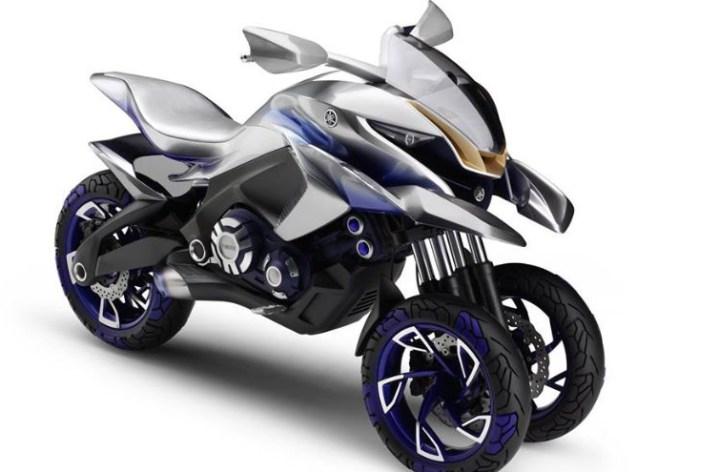 Yamaha shows three-wheeler at Intermot, hints at supersport model