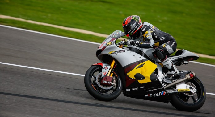 Kallio led three-quarters of the Moto2 race, but that wasn't enough.