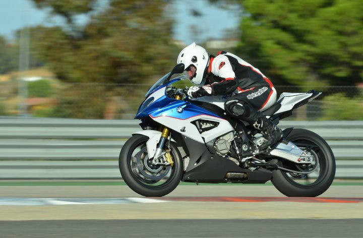 From Germany, with love: Costa rides the 2015 S1000 RR
