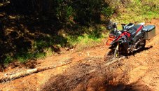 Knowing when to turn around is an important talent when venturing off-road.