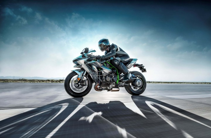 Kawasaki unveils H2 superbike