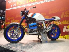 The boxer motored BMWs seem to be a favourite for customizers at EICMA