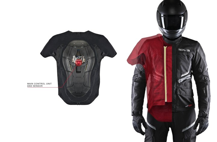 Alpinestars releases airbag suit for the street