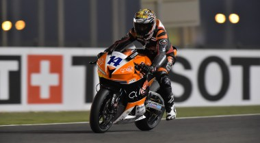 Rathapark Wilairot was a surprising challenger for first in Supersport.