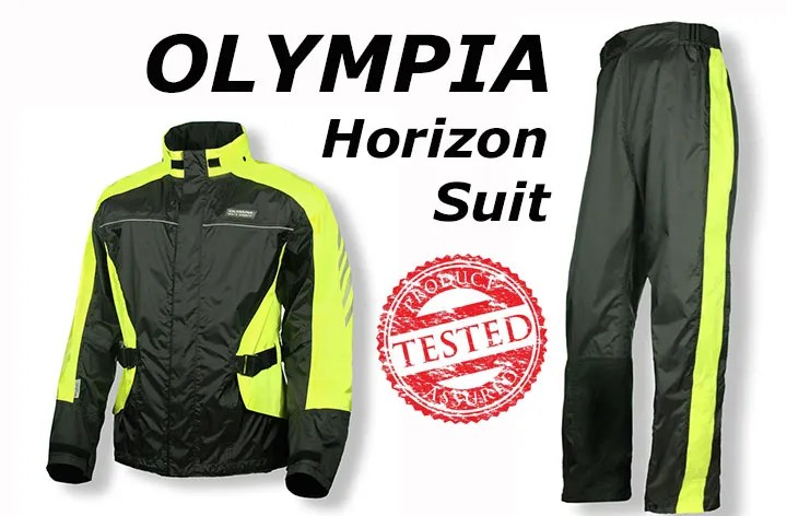 Gear test: Olympia Horizon Rain Suit