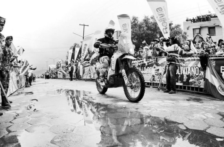 Dakar, Stage Seven: Single-handed heroics
