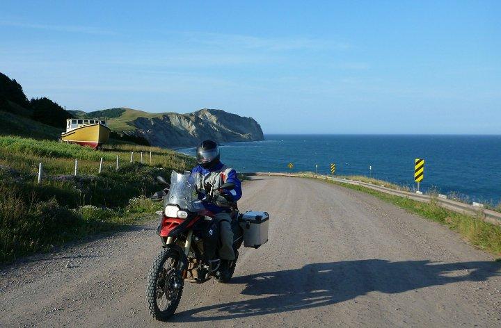Island riding: Zac visits Isles de la Madeleine
