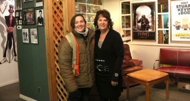 Maureen – the cinema owner. You meet the nicest people on a Honda-2014