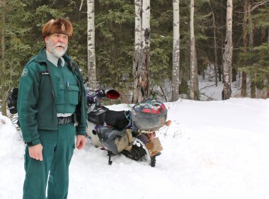Mike the Park Warden - one very confused warden