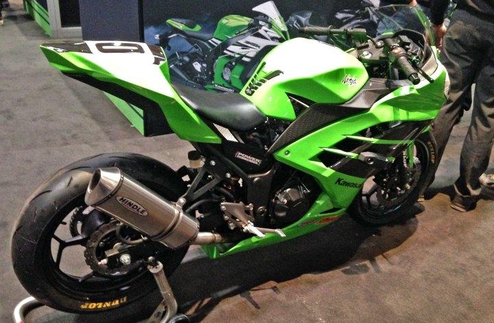 New Ninja 300 race series