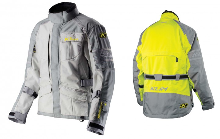 Here's what the Latitude looks like in grey and hi-viz options.