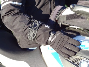Heated gloves offer advantages over heated grips, but it's nice to have both.