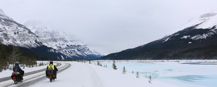 Blue lakes, pretty mountains and smooth ice. Not bad at all.