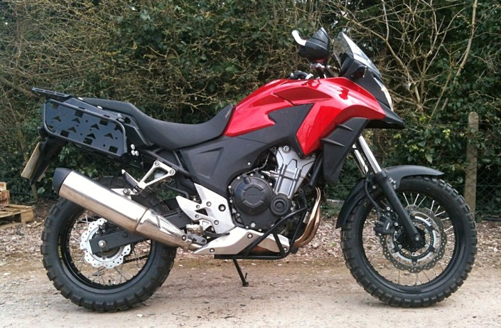 Giant Loop to distribute Rally Raid CB500X Adventure Kit