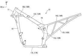 Honda True Adventure Patent drawing