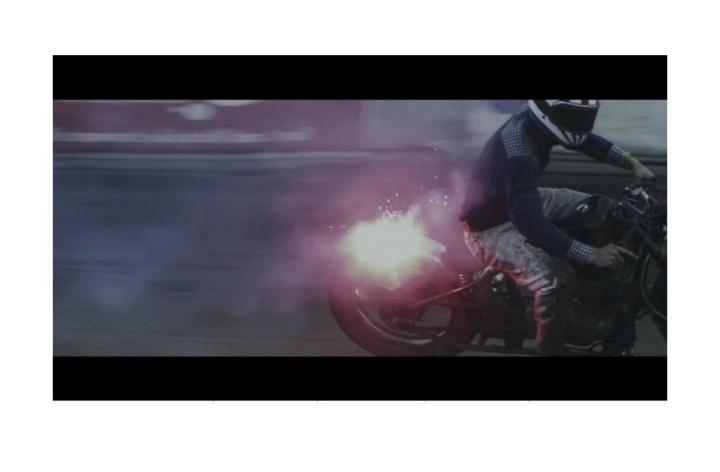 Video: Grassroots motorcycle racing meets art