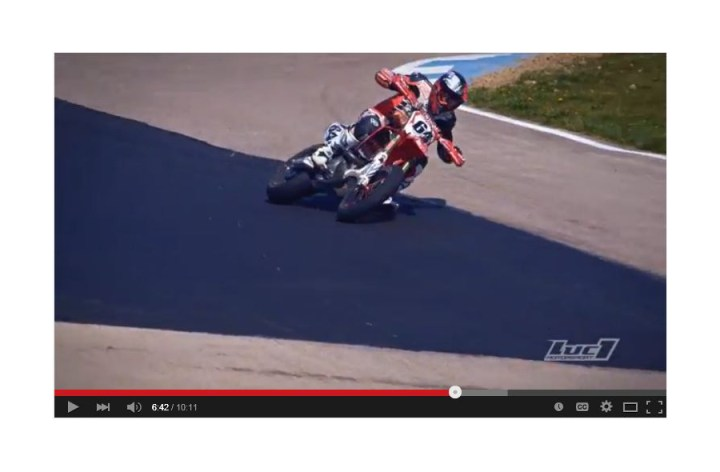 Video: Supermoto – how it's done