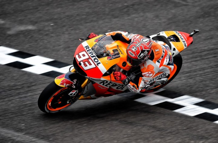 Marc Marquez suffers broken finger