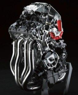 Cutaway shows how the air flows through the motor