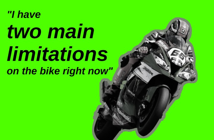Tom Sykes says bike holding him back