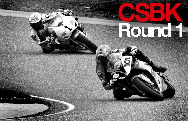 CSBK – Round 1 – Calabogie Motorsports Park