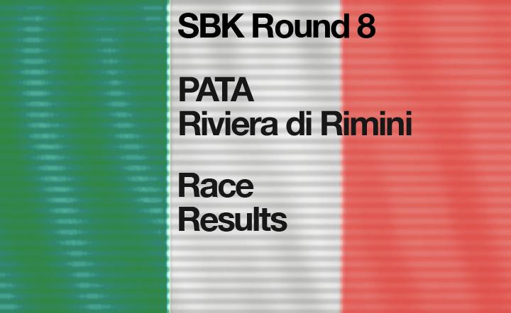 SBK Round 8 – Misano, Riviera di Rimini