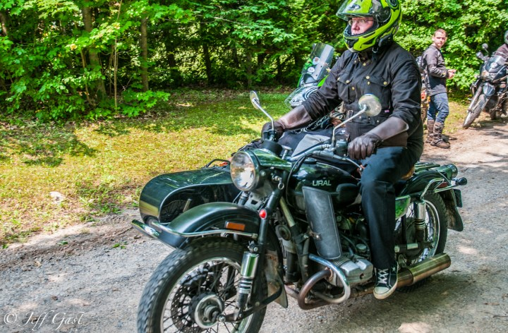 Lawrence Hacking's Overland Rally by Ural