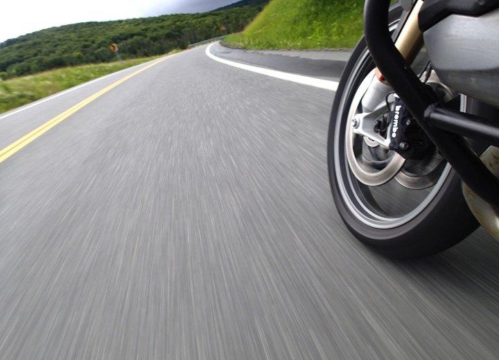 The Adirondacks region boasts some very good roads.